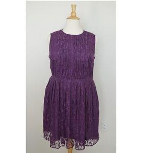 eShakti OLIVIA Lace Dress 2x/22w